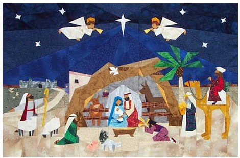Nativity Christmas | Thistle Quilting