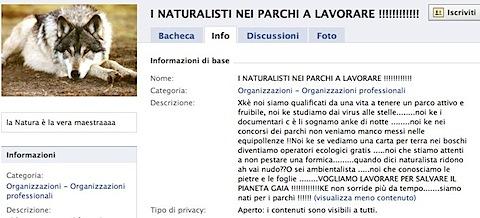 Facebook | I NATURALISTI NEI PARCHI A LAVORARE !!!!!!!!!!!!.jpg