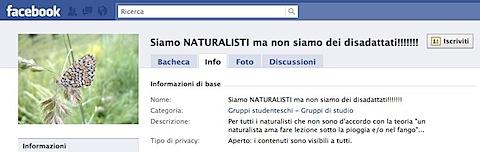 Facebook | Siamo NATURALISTI ma non siamo dei disadattati!!!!!!!.jpg