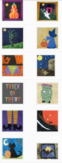 Halloween Paper Pieced Blog Hop  Wrap Party | Whims And Fancies 1 1