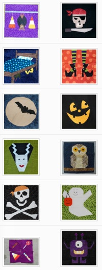 Halloween Paper Pieced Blog Hop  Wrap Party | Whims And Fancies 3